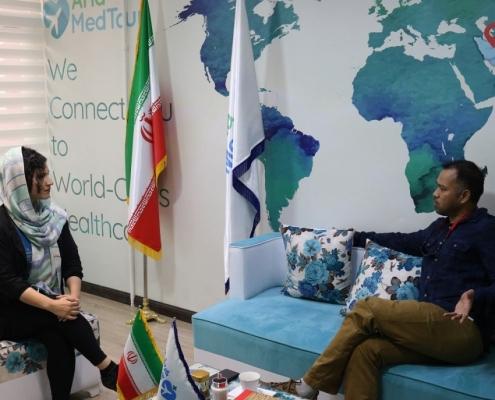 زراعة الشعر في ايران مع آريا مدتور