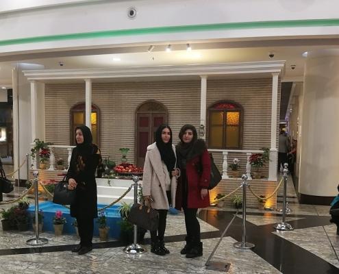 تجربة تكبير الصدر في ايران لمريضة من بلاروسيا