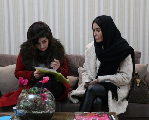 في عيادة التجميل في طهران