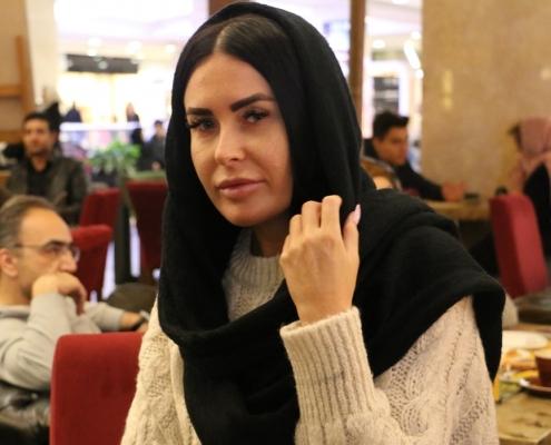 مريضة من بلاروسيا في ايران