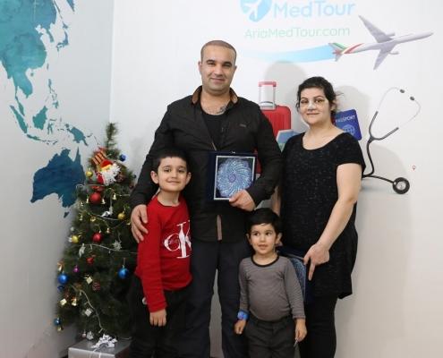 السياحة الطبية في ايران لعائلة افغانية دانماركية