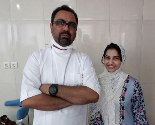 ذكرى تجري فينير الاسنان في ايران