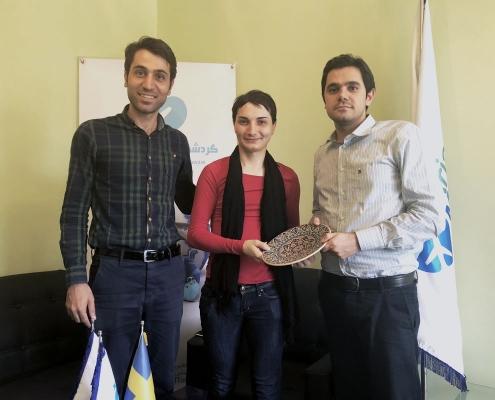 عمليات التجميل في ايران لمريض من السويد