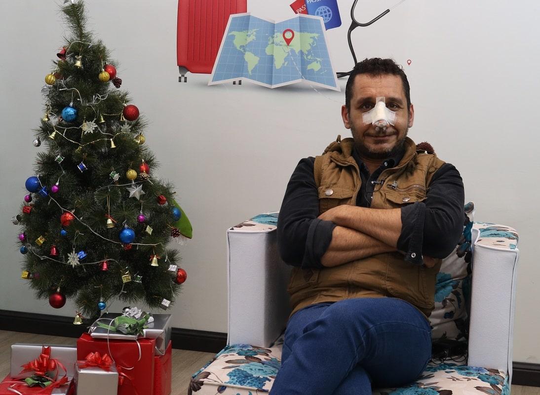 أويس من العراق يتحدث عن تجربة تجميل الانف في ايران