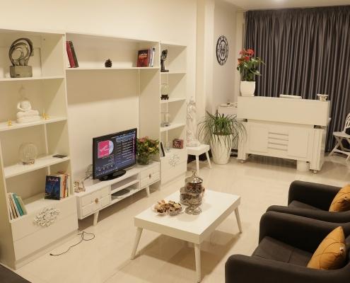 غرفة فندق راقية في طهران لمريض تجميل الانف في ايران