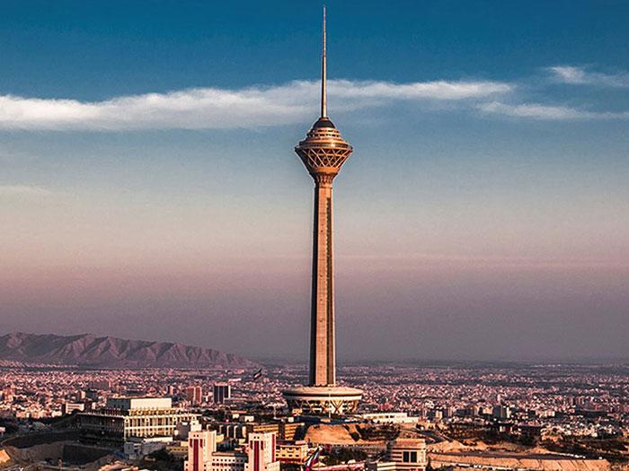 برج ميلاد في طهران