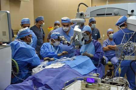 علاج العمى في ايران