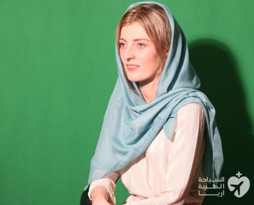 صورة قبل عملية تجميل الانف في ايران
