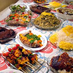 الطعام الايراني
