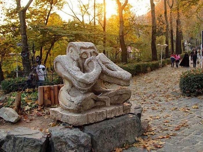 حديقة جمشيديه في طهران