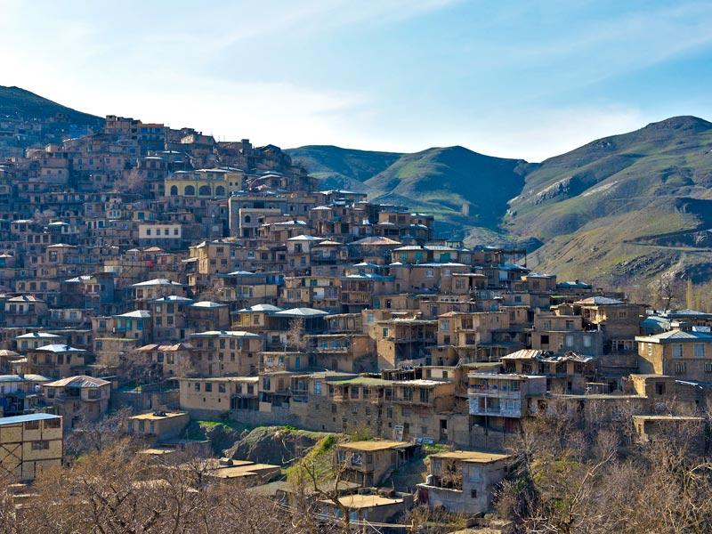 قرية كانغ التاريخية في مشهد