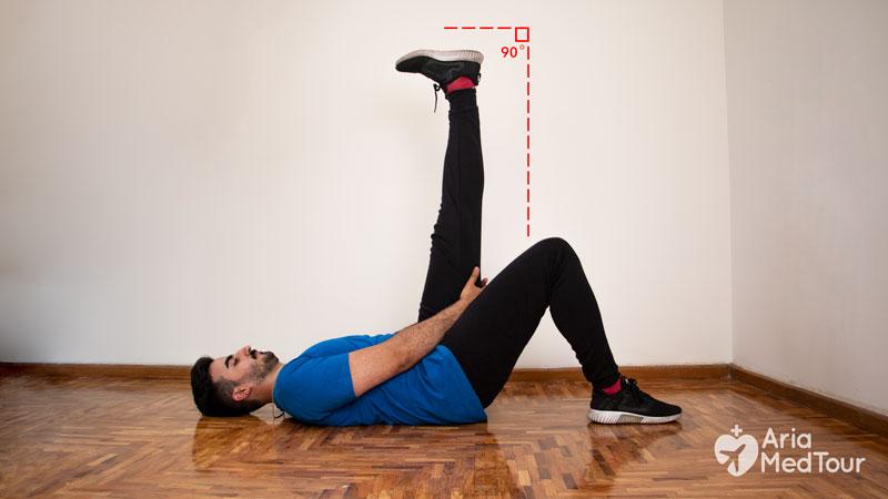 الشد من تمارين تخفيف ألم الركبة