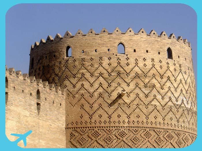 أبراج قلعة كريم خان في شيراز