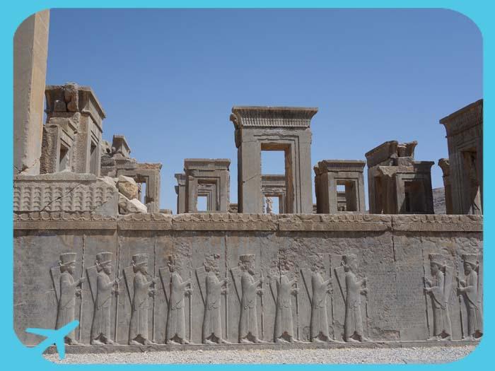 برسبوليس أبرز المعالم السياحية التاريخية في شيراز
