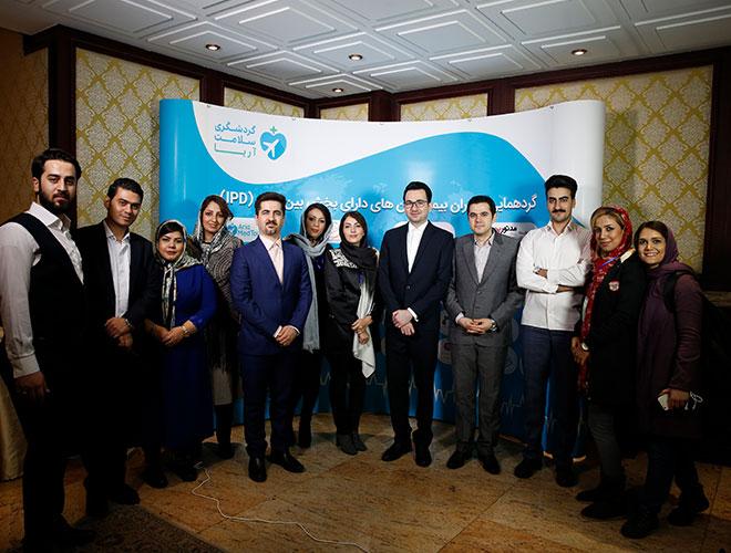 فريق آريا مدتور يكشف عن خدمة الو مديكال