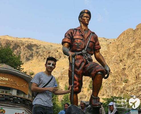 جولة سياحية مع تجميل الانف في ايران