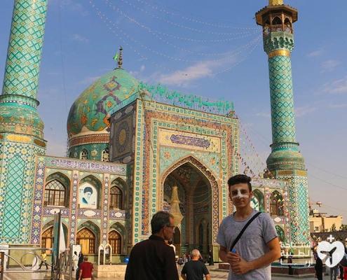 سياحة وتجميل في ايران لشاب كردي