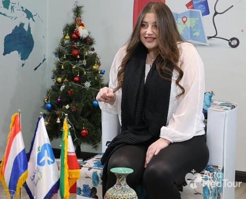 تجربة السي مع تكميم المعدة في ايران