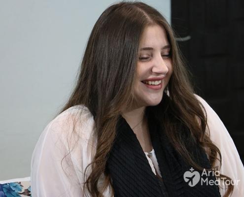شابة سورية هولندية أجرت عملية انقاص الوزن في ايران