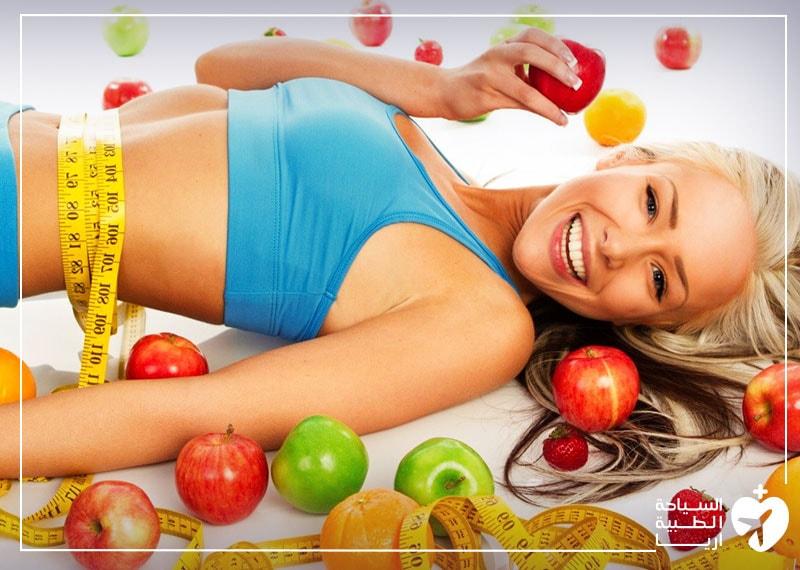 النظام الغذائي بعد شفط الدهون