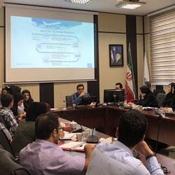آريا مدتور قدوة في الورشة الوطنية عن السياحة الصحية في ايران