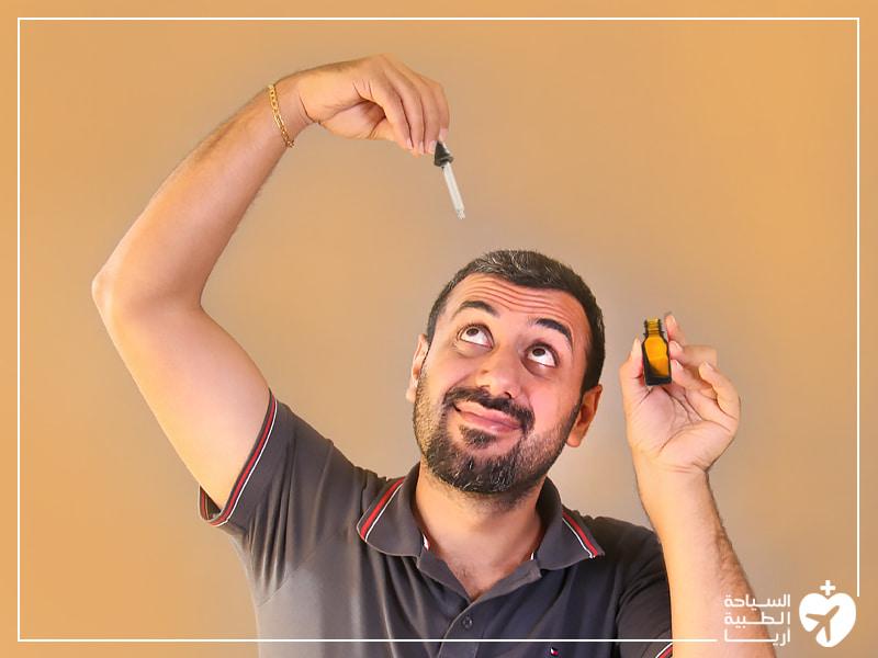 علاج تساقط الشعر دوائياً بالمينوكسيديل