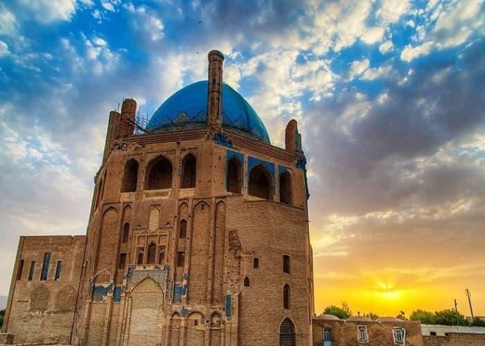 سلطانية في ايران أكبر قبة من الطوب في العالم