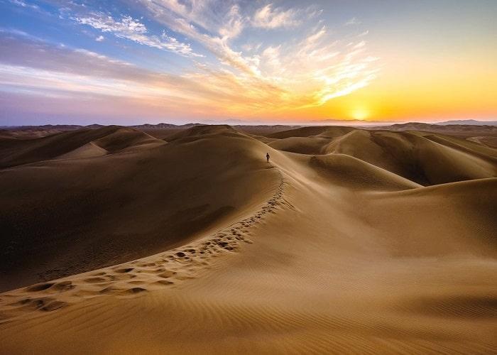 صحراء فرزانة في ايران