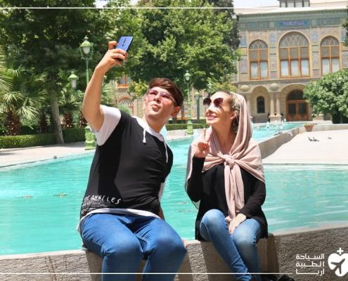 تجربة تجميل الانف والسياحة في ايران