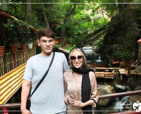 سياحة في الطبيعة مع إجراء عملية الانف في ايران