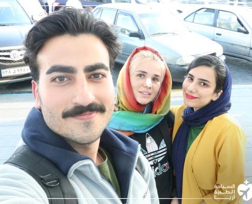 رحلة شابة من روسيا إلى ايران لإجراء عملية تجميل الانف