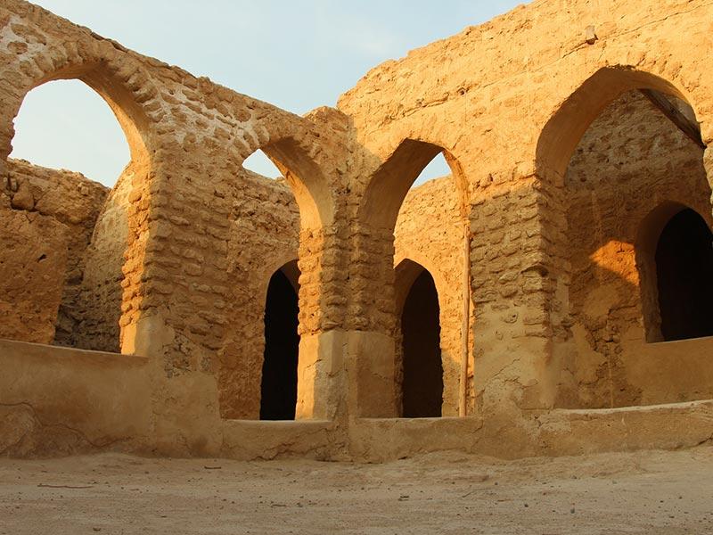 بلدة حريرة القديمة في جزيرة كيش