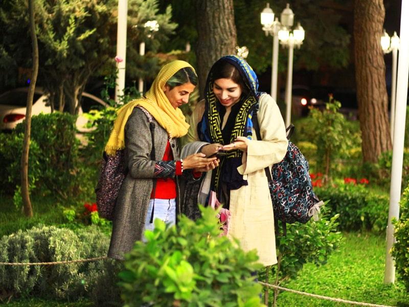 لباس النساء في ايران