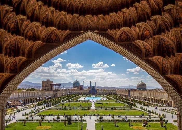 ساحة نقش جهان في اصفهان ايران