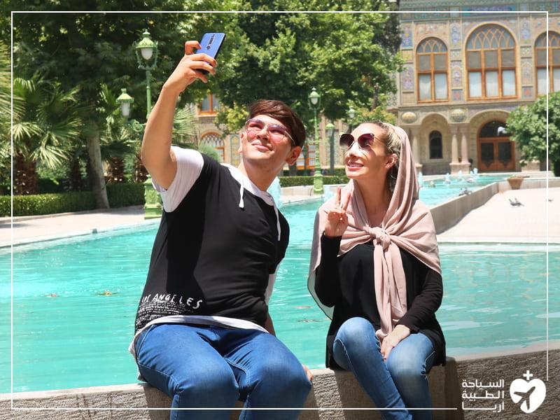 الطقس في ايران في الصيف