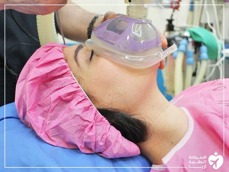 التخدير العام في عمليات التجميل