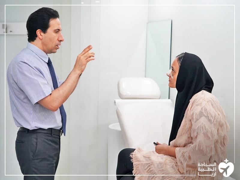 مراجعة الدكتور بعد الجراحة جزء من الرعاية والمتابعة بعد العملية الجراحية