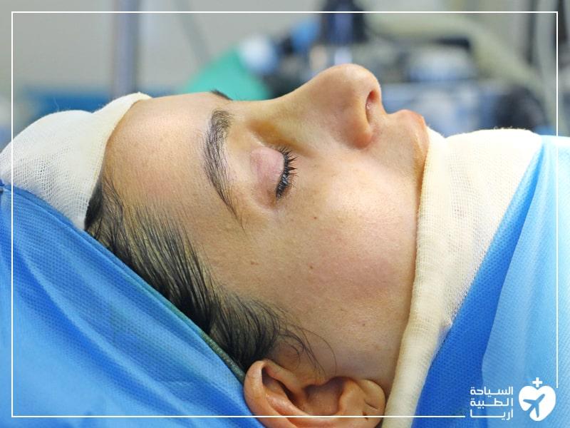 التخدير في عملية تجميل الانف