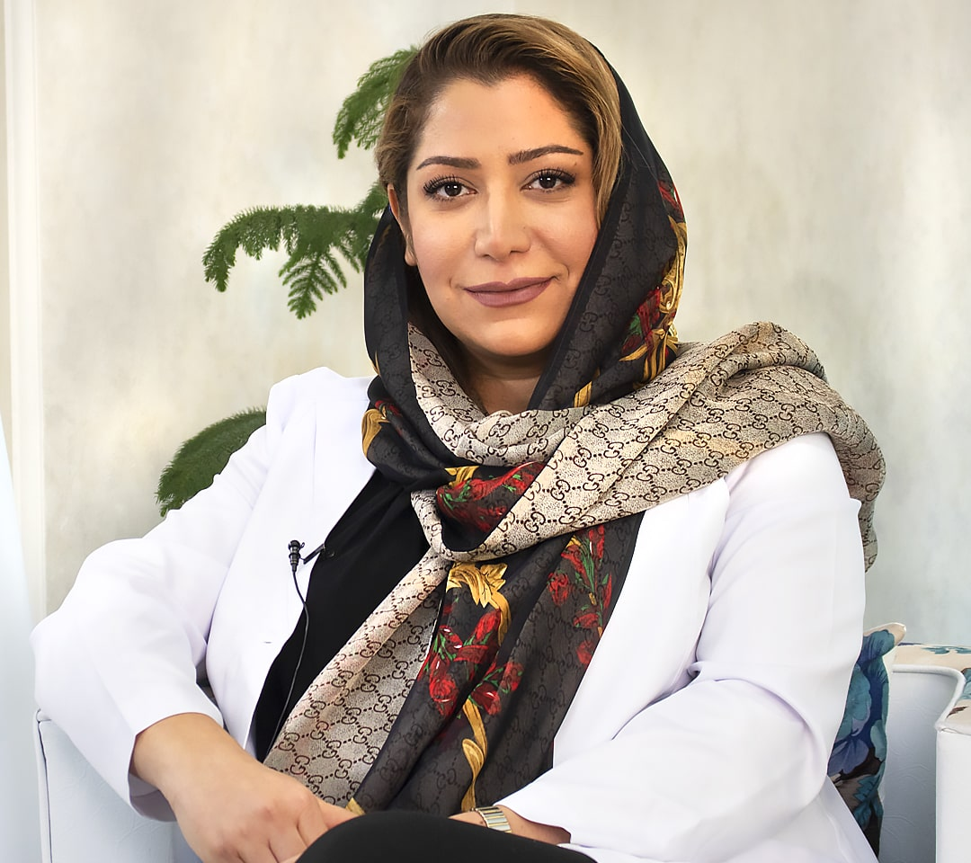 أفضل دكتورة تجميل اسنان في ايران الدكتورة سامه كشاورزيان
