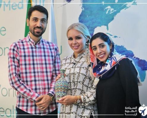 السياحة الطبية لإجراء زراعة الثدي في ايران