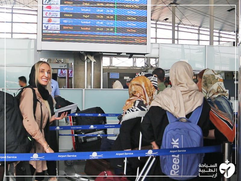 المتابعة والرعاية بعد العملية الجراحية في ايران