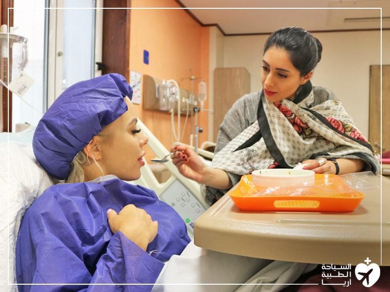 الرعاية في المستشفى بعد العملية الجراحية