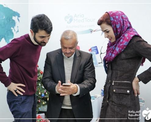 تجربة فتاة عراقية مع عملية تجميل الانف في ايران