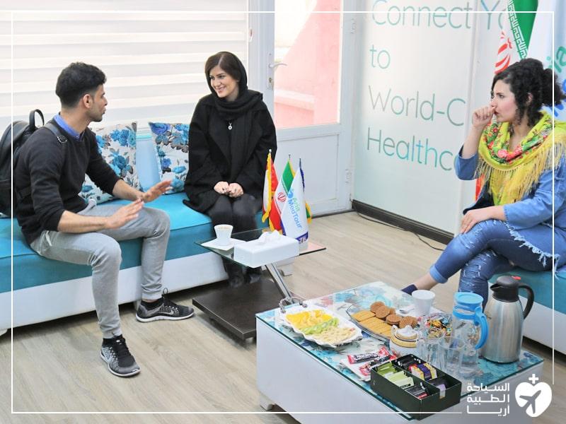 تجربة فينير الاسنان في طهران