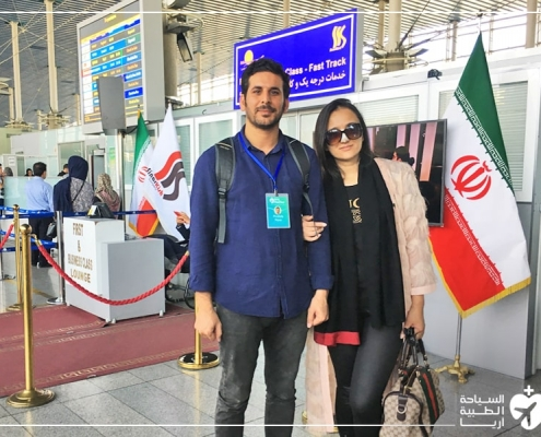 شاخنوزا في نهاية رحلة تجميل الانف في ايران