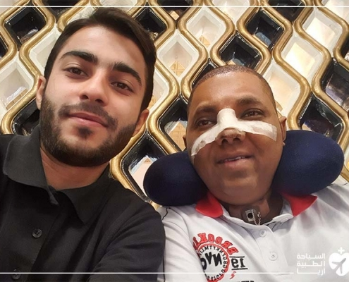 تجربة ترميم الانف في ايران مع آريا مدتور