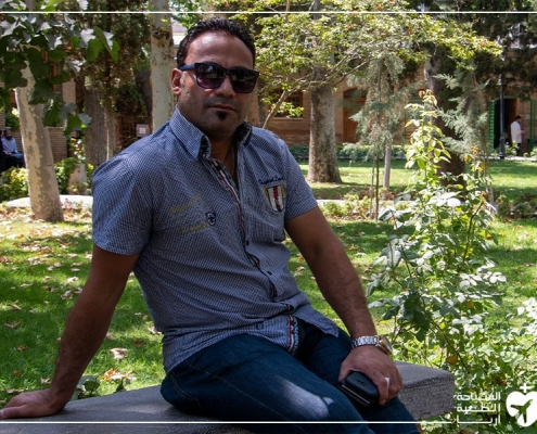 بعد عملية علاج الحول في ايران