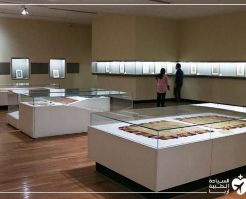 ليشا في زيارة إلى المتحف أثناء رحلة إجراء تكميم المعدة في ايران