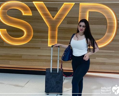 مريضة ترميم الانف في ايران بعد العودة إلى استراليا