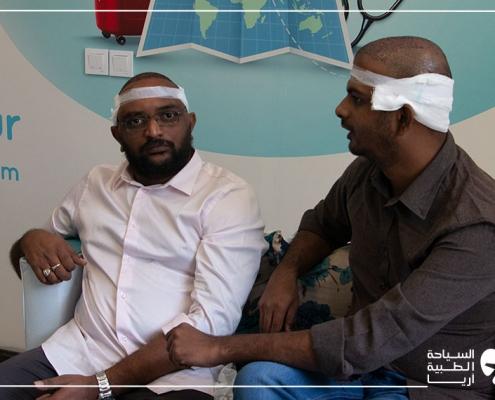مريضان هنديان في رحلة علاجية إلى ايران لإجراء زراعة الشعر